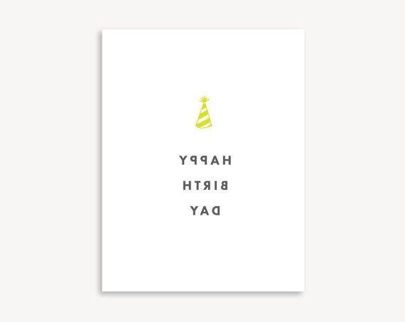 Download Set Of Minimalist Birthday Card Birthday Card Printable Minimalist Cards Birthday Cards