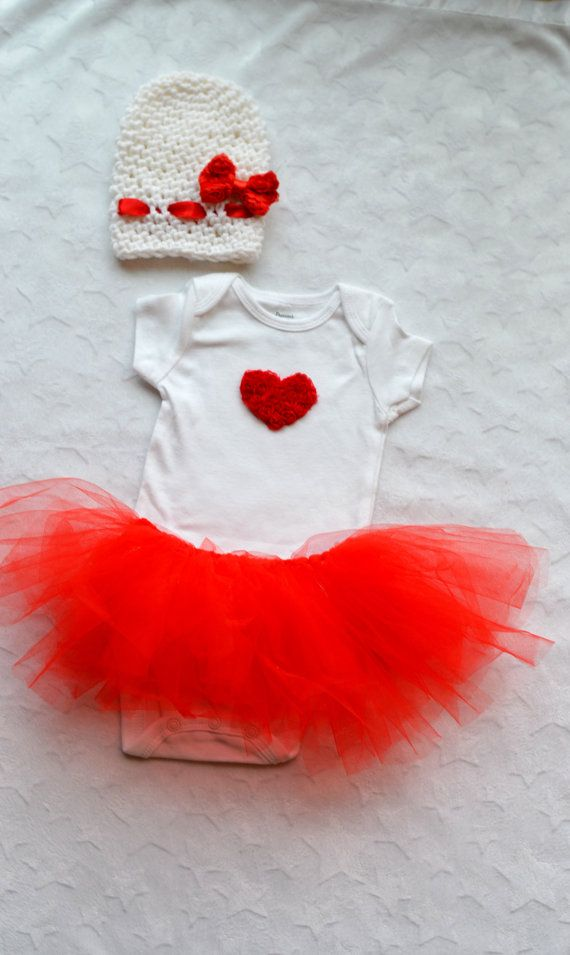 Baby Girl Valentines Day Outfit Childish Dreams Photography Props