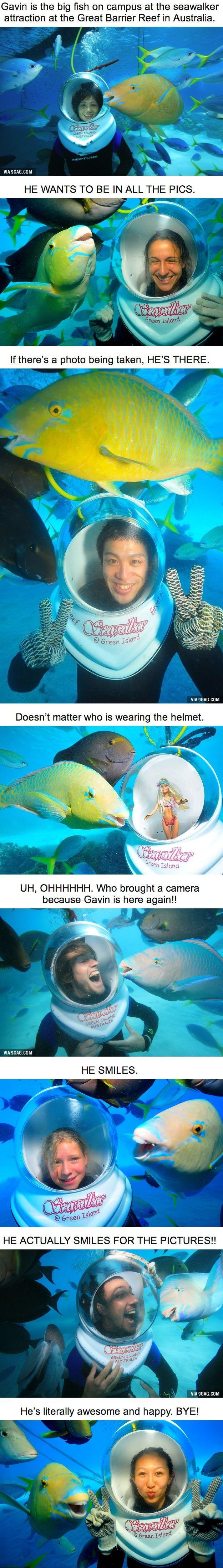 I wanna meet that fish