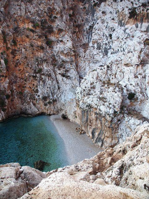 Areta beach, Chalki
