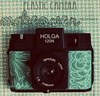 Diy Plastic, Painting Cameras, Toys Cameras, Diy Painting, Holga Plastic Cameras Diy, Holga Cameras, Diy Cameras, Cameras Painting, Cameras Makeovers