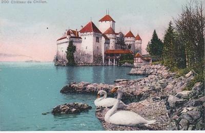 Phototypie Co Postcard - Château de Chillon (200)