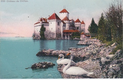 Phototypie Co Postcard - Château de Chillon (200)