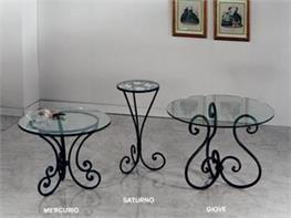 11 best Tavoli in ferro battuto images on Pinterest   Apartment ...