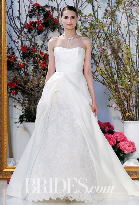 Brides.com: . Wedding dress by Anne Barge