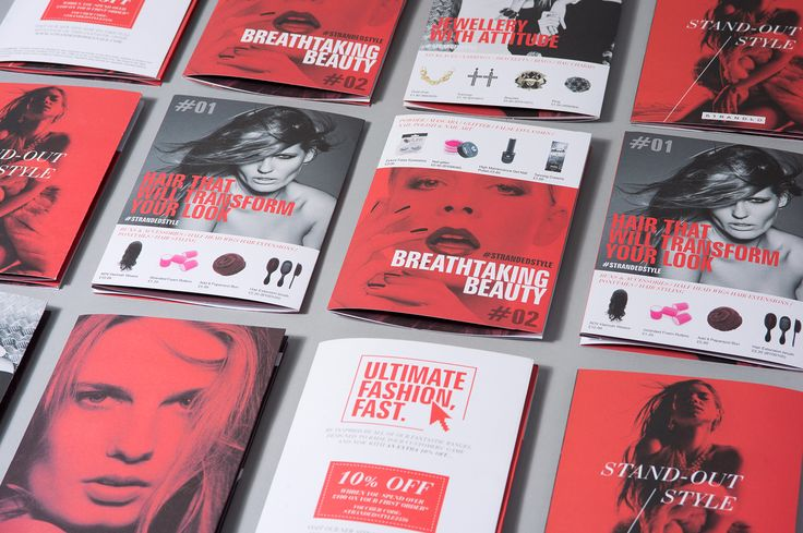 Branding | Exhibition Design | Leaflet Design // red, black and white as uniting element