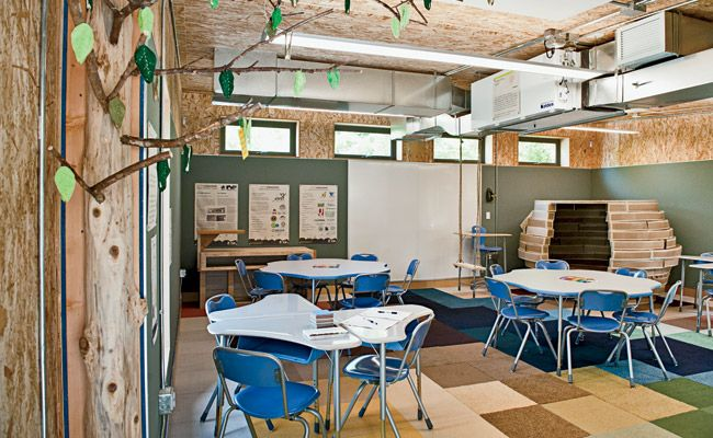 Sprout Modular Classroom ~ Modular classroom makeover new designs sage seed