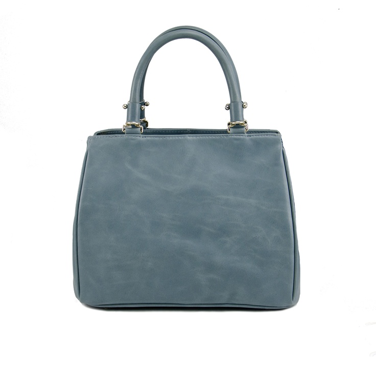 Tribecca Leather Handbag in Blue - $179.00   Check it out at: http://www.bagaholics.com.au/leather-bags-c6/tribecca-leather-handbag-in-blue-p582/