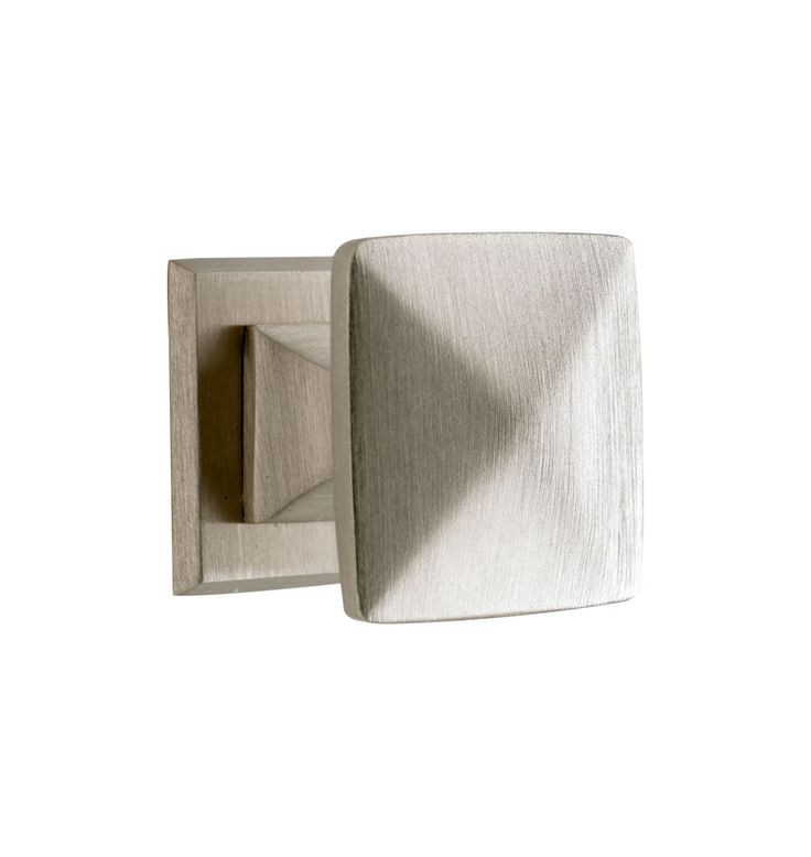 pyramid cabinet knob with backplate in brushed nickel from lighting u0026 house parts