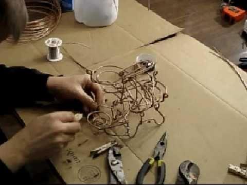 how to make kinetic art
