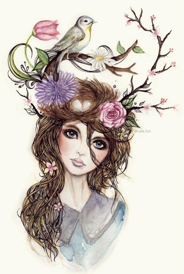 Hair nest ??? ..... literraly