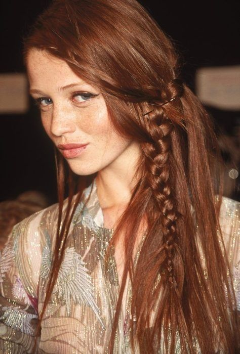 You can never go wrong with a low-slung bohemian braid