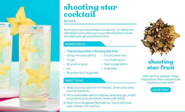 Shooting star cocktail