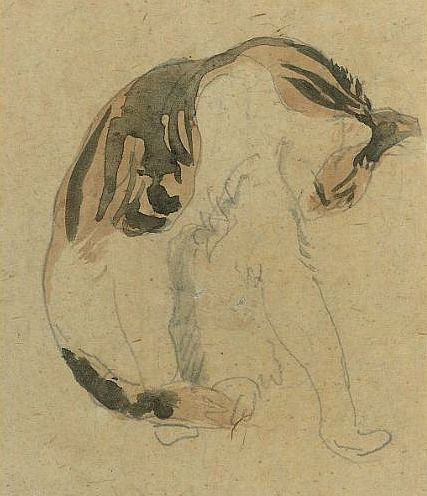 Gwen John - Study of a Cat - 20th century