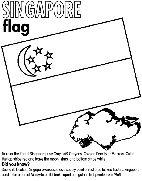 malaysia flag coloring page - 31 best teach kids about malaysia and singapore images on