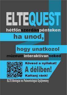 Szabó Annamária - Elte Quest plakát terv