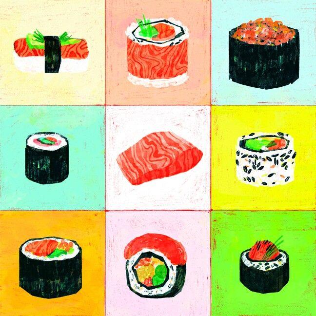 Hosomaki,  nigiri, huramaki..  Sushi addiction.