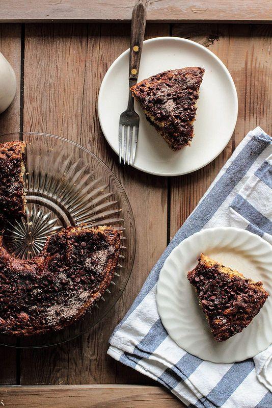 Espresso Chocolate Coffee Cake via Pastry Affair.