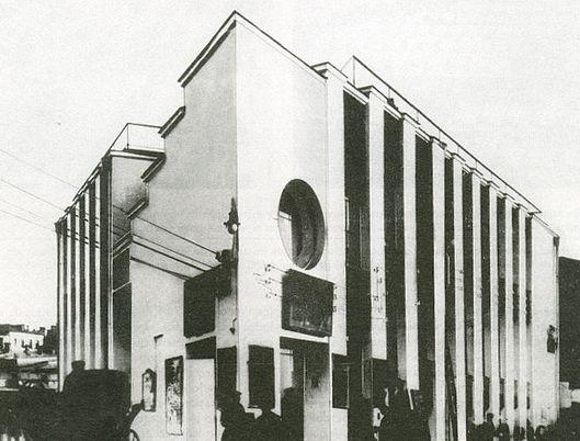 Ново-Сухаревский рынок, 1930, Константин Мельников