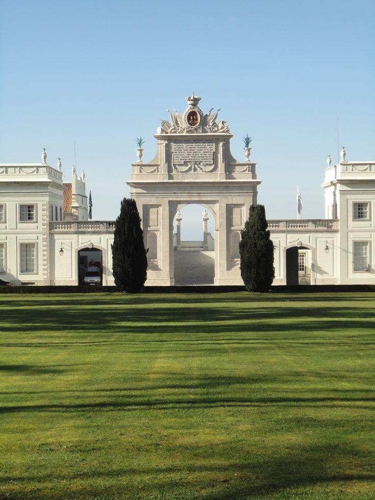 Palácio de Seteais, em Sintra, Lisboa, Portugal