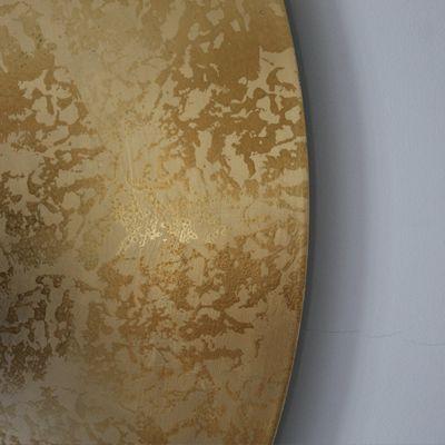 Große gold schlagmetall lampe handgefertigt