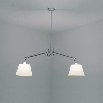 Shop Online For Artemide Tolomeo Suspension Lamp.Cantilevered Arms In  Polished Aluminium. Technical Info