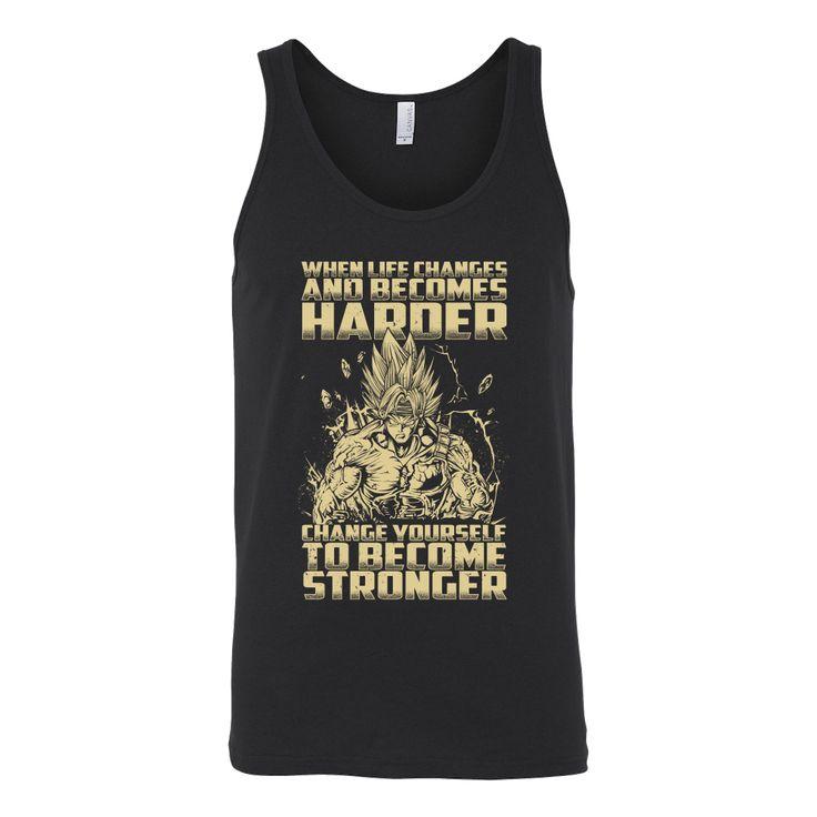 Super Saiyan Bardock become stronger Unisex Tank Top T Shirt - TL00476TT