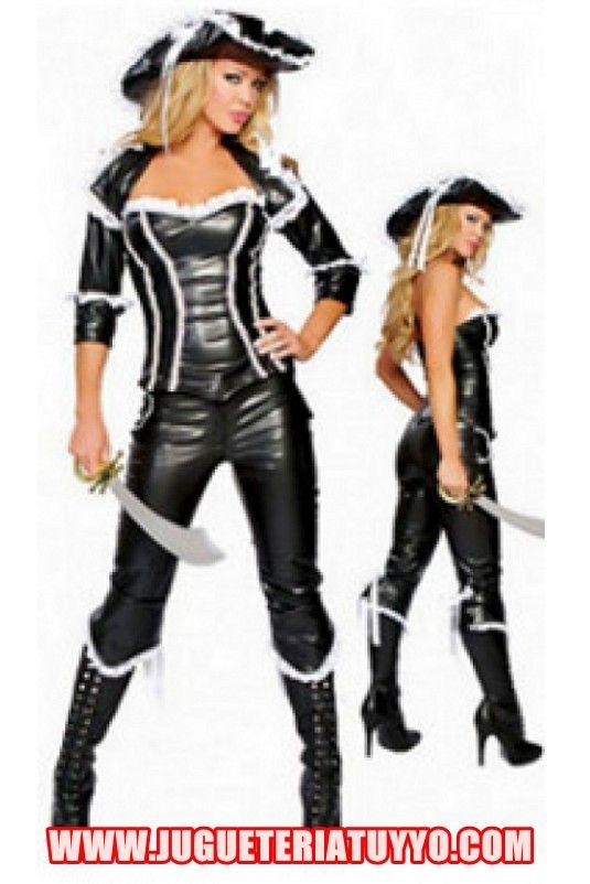 Disfraces de mujer pirata disfraces adulto mujer for Disfraces caseros adultos