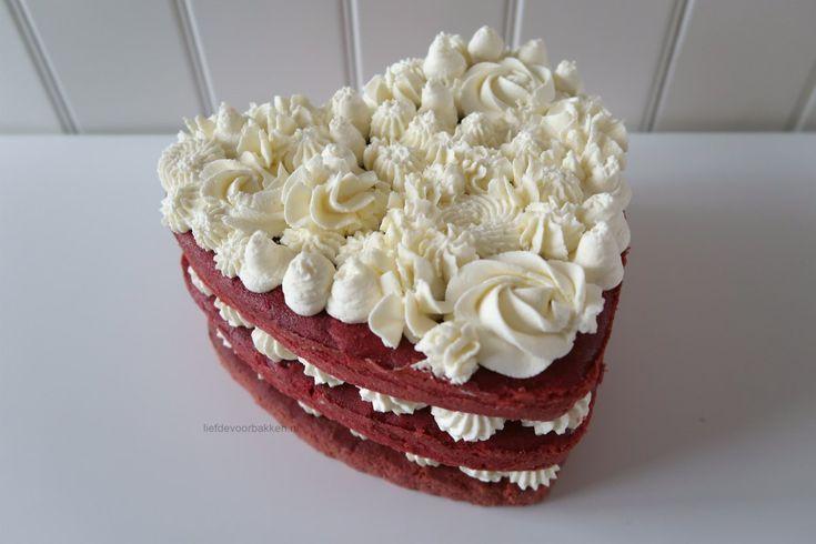 Redvelvet Naked Cake | liefdevoorbakken.nl