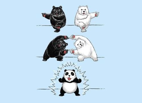 パンダの作り方が分かった