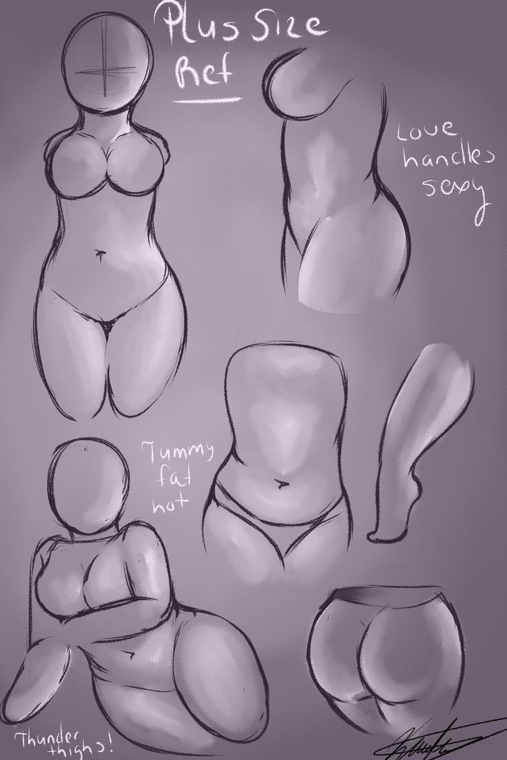 How to draw sexy women