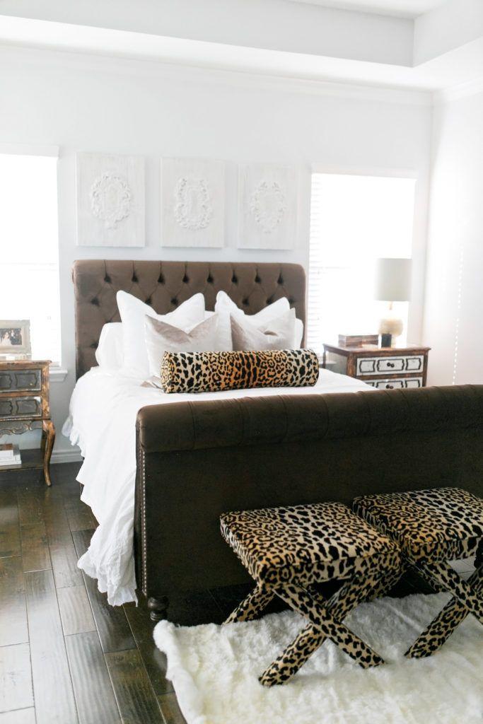 Master Bedroom Updates in 2019 | Leopard bedroom, Leopard ...