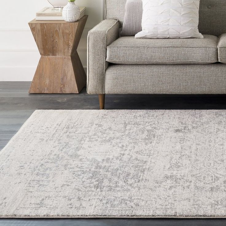 Best Hillsby Persian Inspired Charcoal Light Gray Beige Area 400 x 300