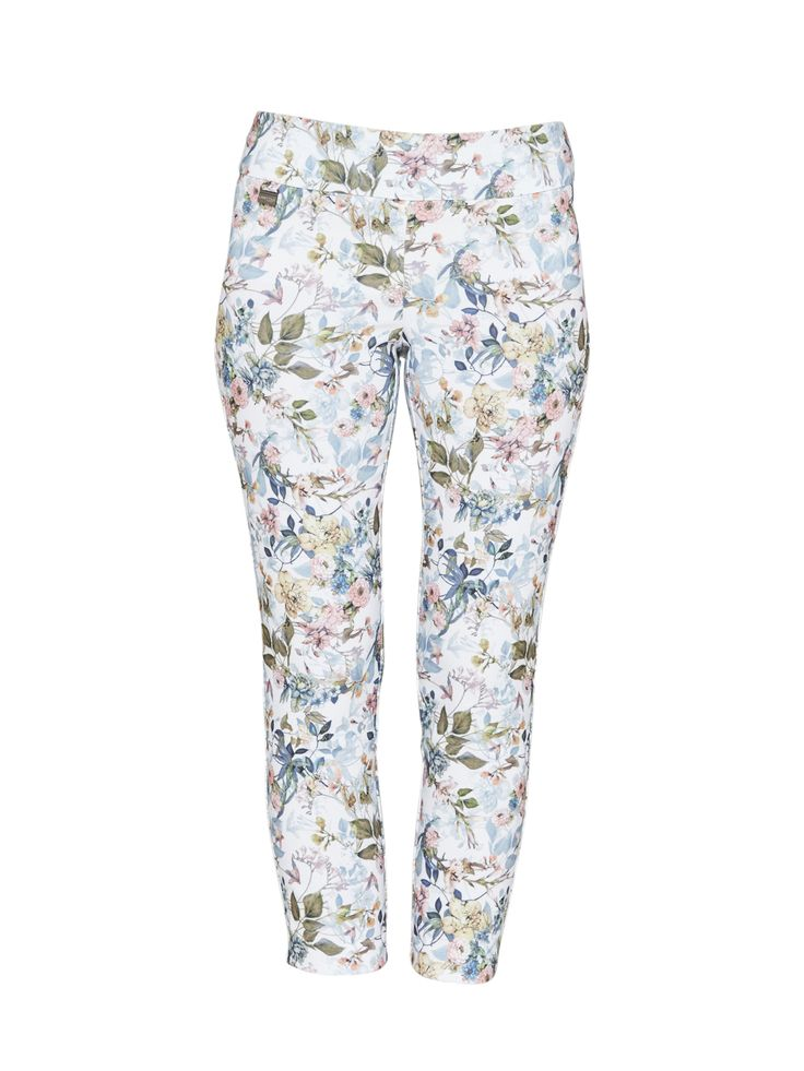 Lisette - Meadow Floral Ankle Pant