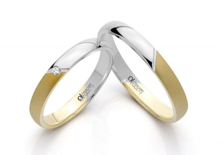 Verighete ATCOM ATC1503 aur galben cu alb