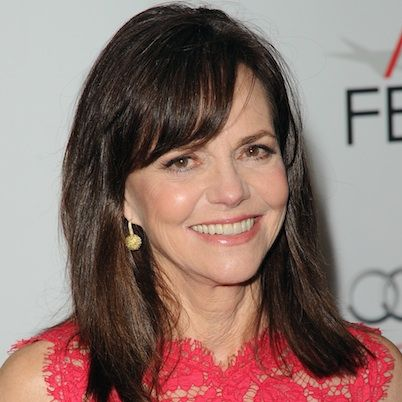 Sally Field is an American actress born on November 6, 1946 in Pasadena, California. Her big break came when she played the lead role in the TV sitcom Gidget (1965). Field next appeared in the hit TV series' The Flying Nun (1967) and Smokey and the Bandit (1977). Field won Emmy Awards for her performances in Sybil (1976), Beautiful (2000) and Saturday Evening Post (2007).  She won Academy Awards for Norma Rae (1979) and Places in the Heart (1984).