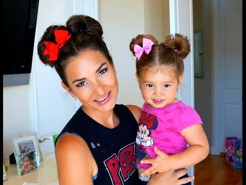 How to: Minnie Mouse Hair for Halloween and/or Disneyland (Disney) - YouTube