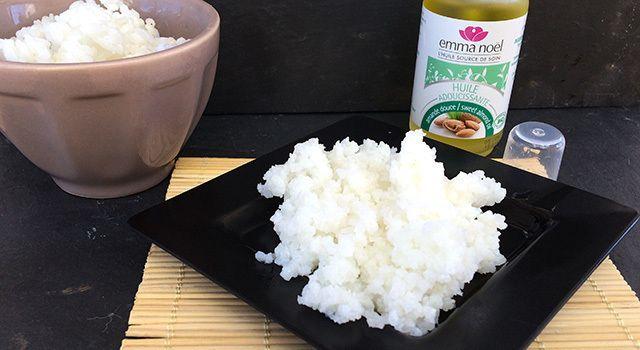 Masque anti-âge riz amande