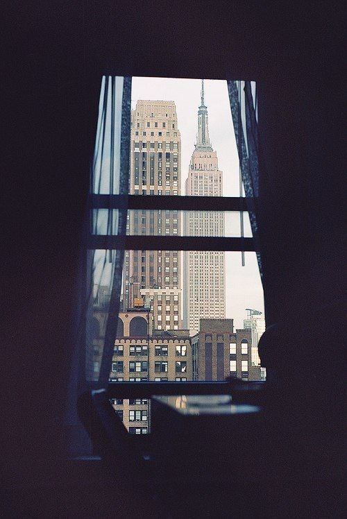 NYC Window! Empire State photography.