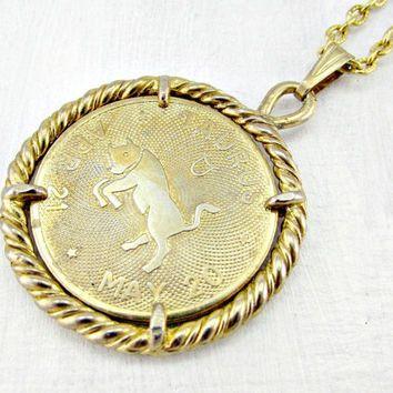 horoscope golden medallions - Google Search