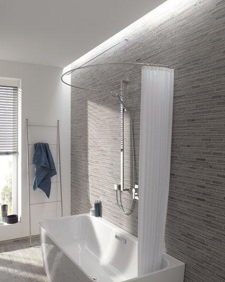 Duschvorhangstange DR 700 HW von PHOS Design | Duschvorhangstangen