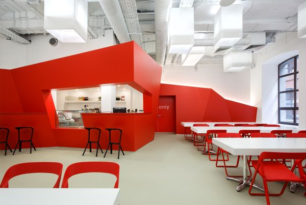BBDO office in Moscow on Interior Design Served