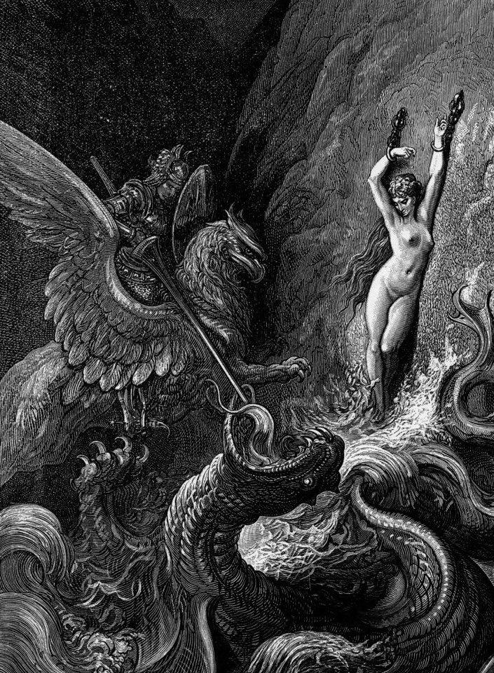 Gustav Dore' - Myth of Perseus