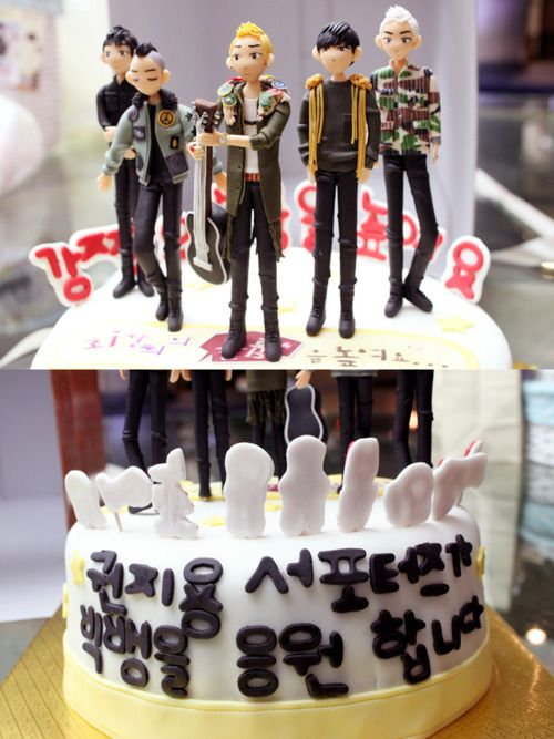 Bigbang Birthday Cake