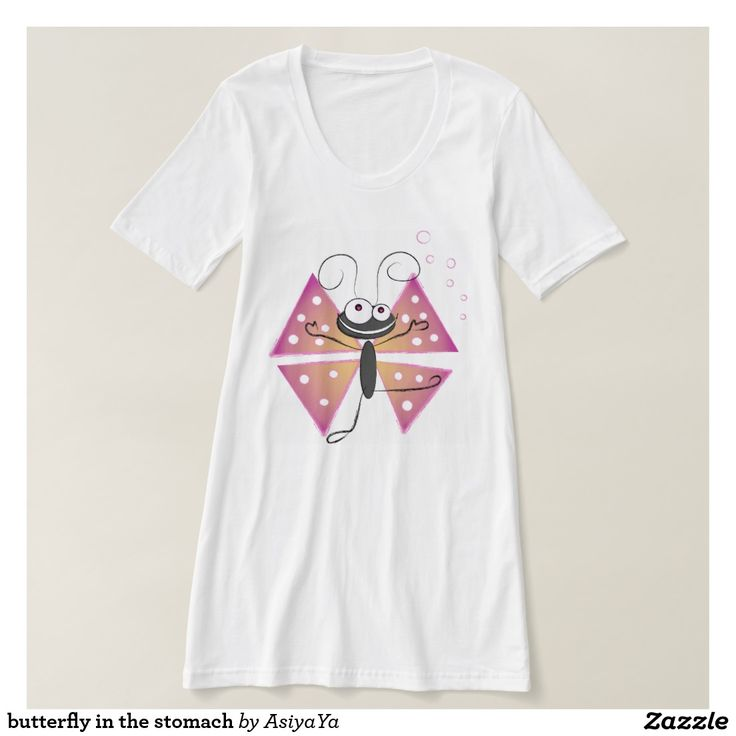 butterfly in the stomach #tshirt