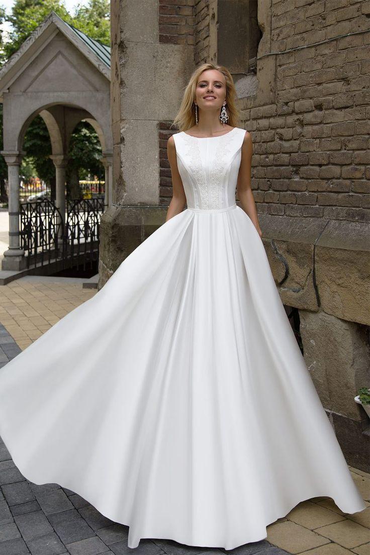 Elegante trouwjurk – Creatie Thérèse
