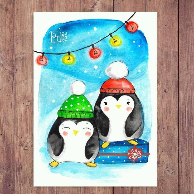 Christmas card illustration :D
