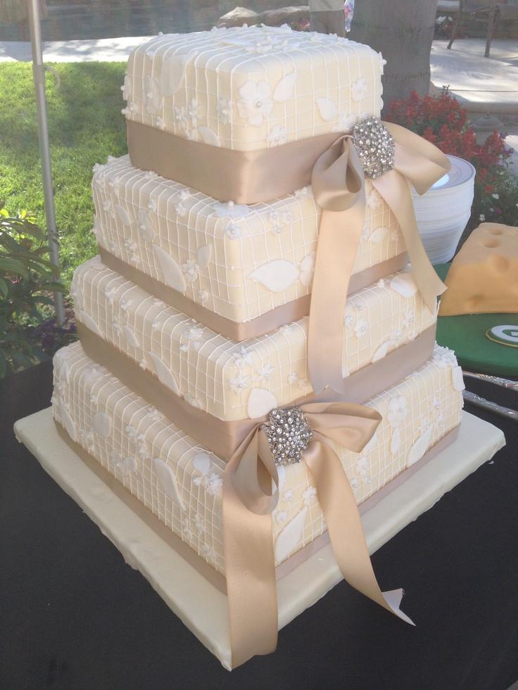 Waterproof Ribbon For Wedding Cakes