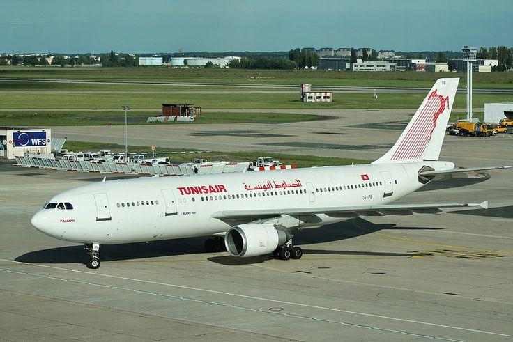 Airbus A300: 0563 TS-IPB A300B4 605R Tunis Air Paris Orly Airport