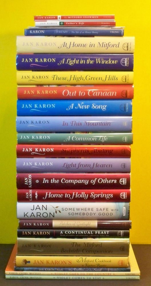 22 MITFORD Series Complete 1-10 +2 Father Tim +10 BONUS SIGNED Jan Karon lot